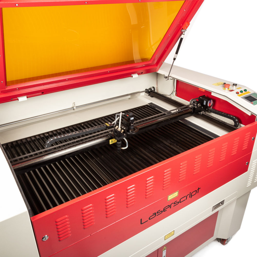 Laserscript LS1290 bed