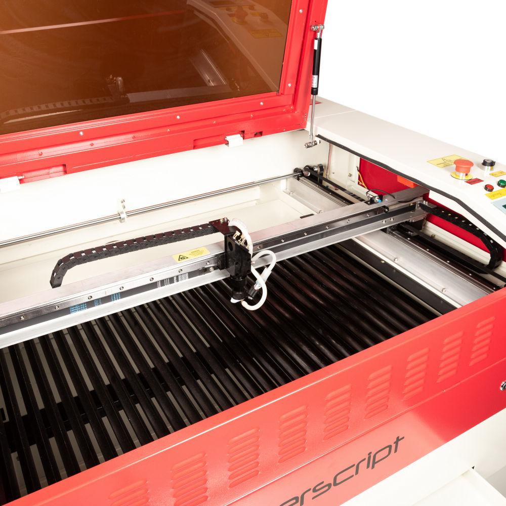Laserscript LS6090 bed