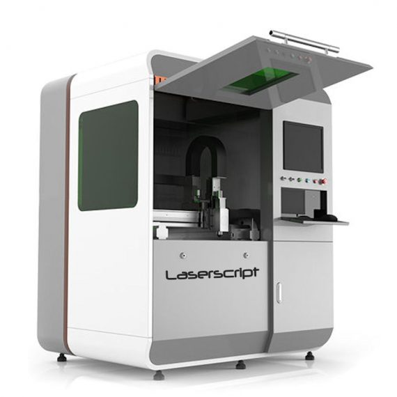 LF6040 fibre laser cutting machine